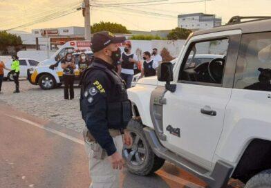 PRF na Paraíba intensifica ações de educação e fiscalização