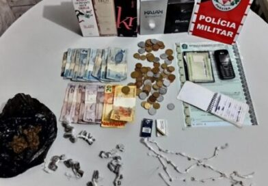 Operação Nômade: PM apreende menor com drogas, dinheiro e perfumes