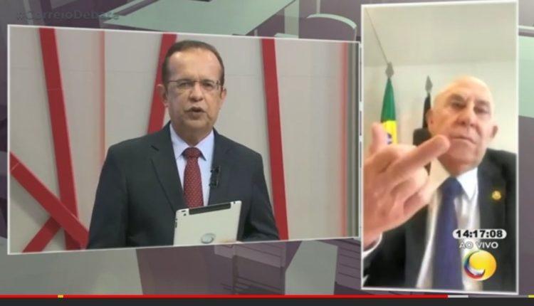 Ney faz gesto obsceno após falar sobre Maranhão em entrevista e gera polêmica; veja vídeo