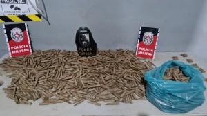 Polícia apreende cerca de 1500 munições enterradas em São Miguel de Taipu